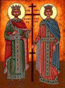 Sfinţii Împăraţi Constanin şi Elena