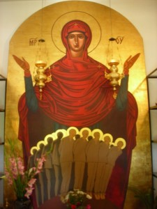 Maica Domnului cu Sfinţii închisorii de la Aiud