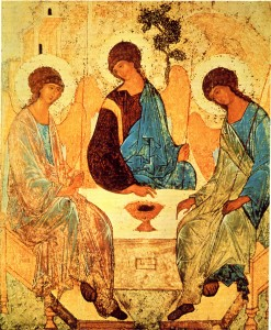 Sfânta Treime de Andrei Rubliov