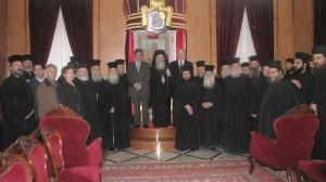 Patr. Ierusalimului şi Prof. Gheorghios Galitis