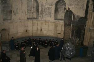 Armenii refuzând să plece aşa cum prevede acordul semnat