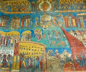 Infricoşătoarea Judecată - Mânăstirea Voroneţ